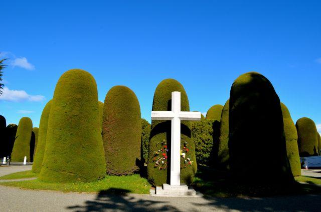 Cemetery Punta Arenas cross