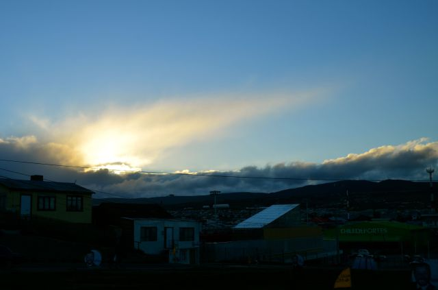 Up to Punta Arenas