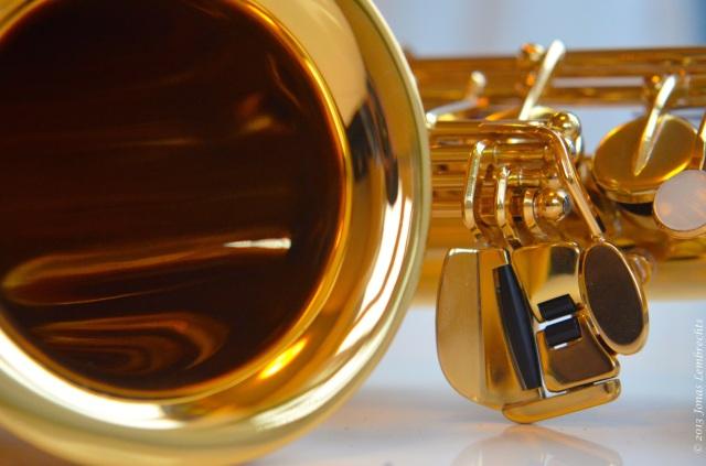 Saxophone detail