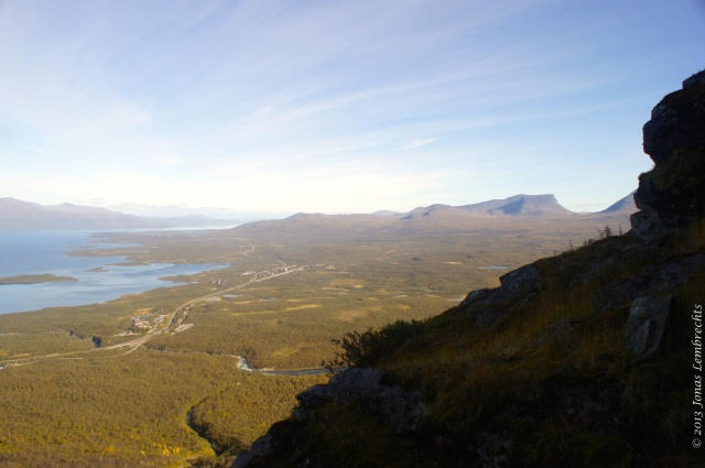 View on Abisko village