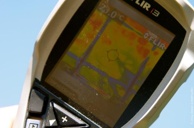Infrared imagery FLIR