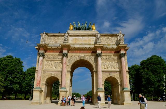 Arc on the Place du Carroussel, Paris