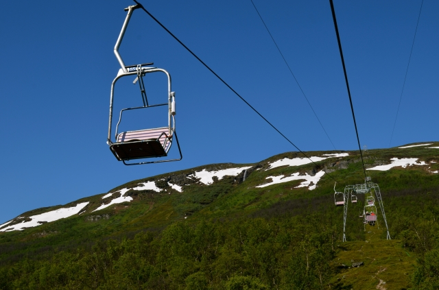 Chairlift to Nuolja mountain