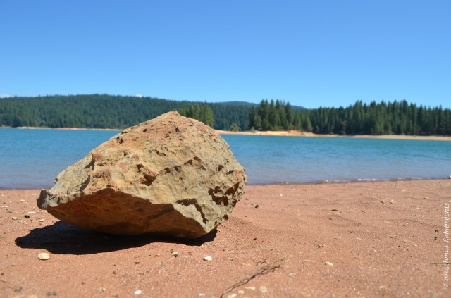 Rock at Lake Jenkinson