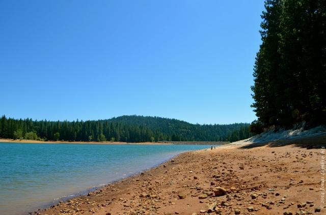 Lake Jenkinson Californian drought