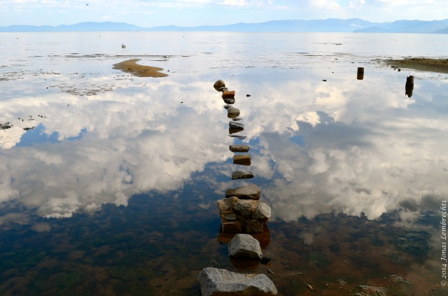 Reflection and stones