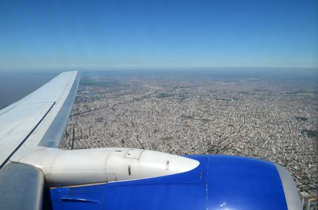 Buenos Aires from the air