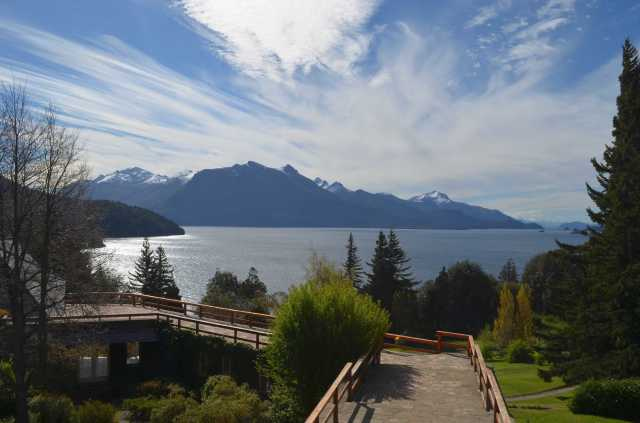View from Tunquelen hotel Bariloche