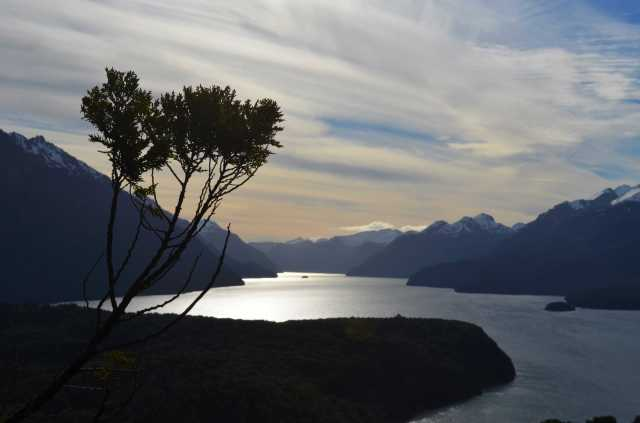 View on the lake in Bariloche