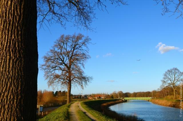 Winter view on the Zenne, Mechelen