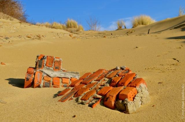 Ruin in the dunes
