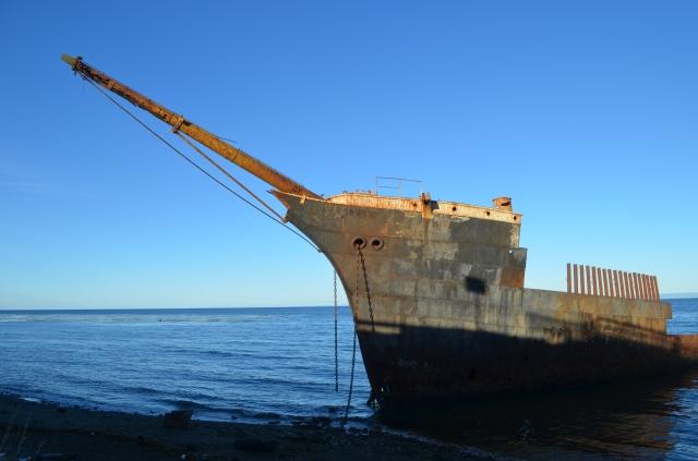 Lord Lonsdale ship graveyard Punta Arenas