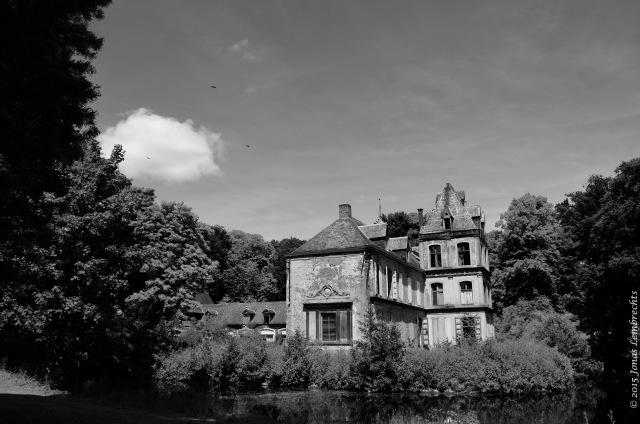 Old abandoned castle