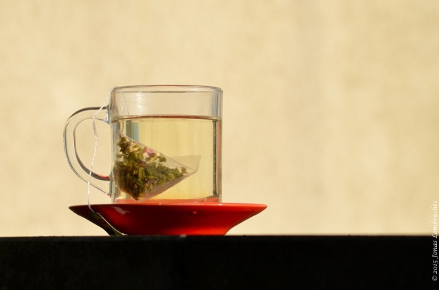 Tea on my terrace