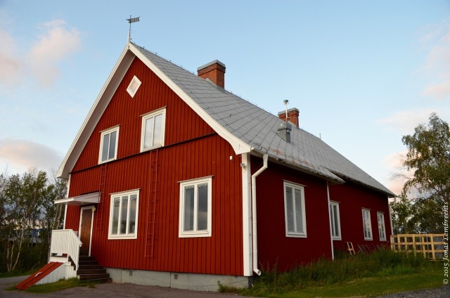 Oldest building of Abisko Research Station