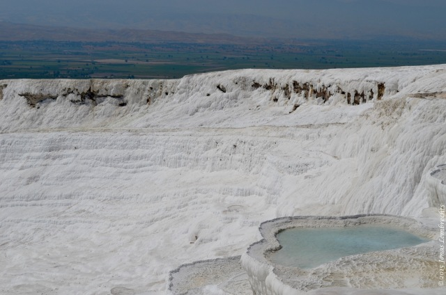 Flooded terraces in Pammukale