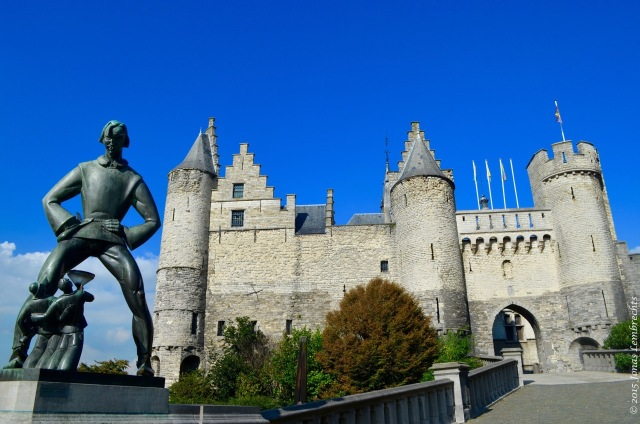 't Steen, the Stone, the medieval fortress of Antwerp