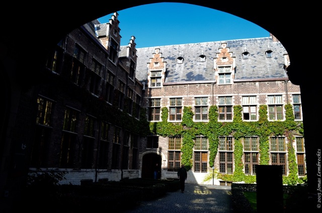 Hof van Liere, the university of Antwerp