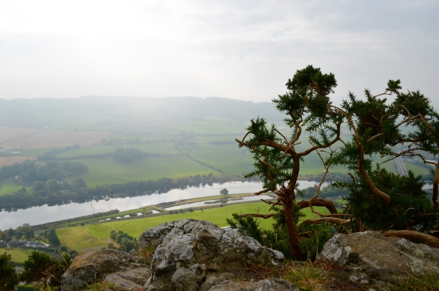 Overlooking the valley of the river Tay in Perth