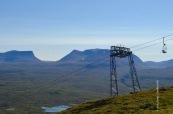 Ski lift and Lapporten