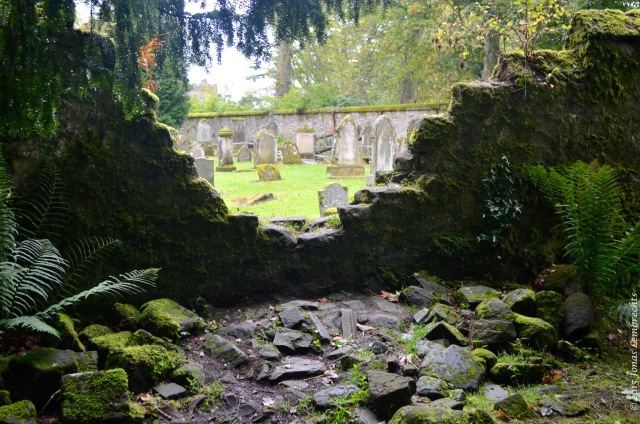 Old graveyard, Scone Palace