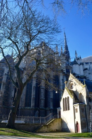 Cathedral of Amiens from le Parc de l'Evêché
