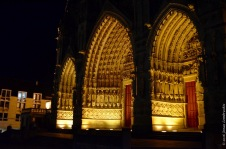 Cathedral at night