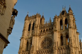 The cathedral of Amiens
