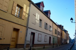 Amiens is filled with cute little houses