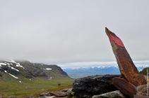 Overlooking the valley of Laktajakka