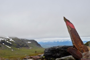 Overlooking the valley of Laktajakka
