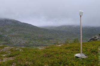 Measuring air temperature