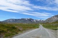 Roadside research in the mountain