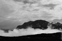 Dramatic mountain views