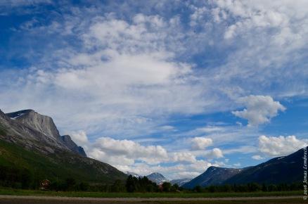 The Skjomen valley