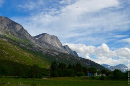 Idyllic Norwegian valley -