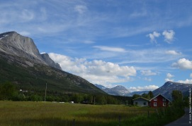 Idyllic Norwegian valley - Skjomen