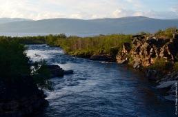 Abiskojokka, the Abisko rive