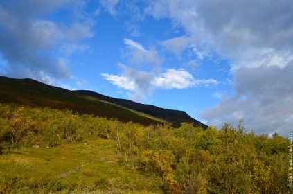 Autumn in Abisko