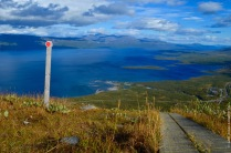 The most beautiful hiking trail of the world: Nuolja in Abisko