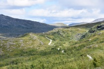 One of our study roads in Narvik, Norway