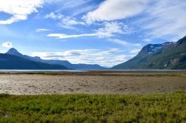 Skjomen fjord valley