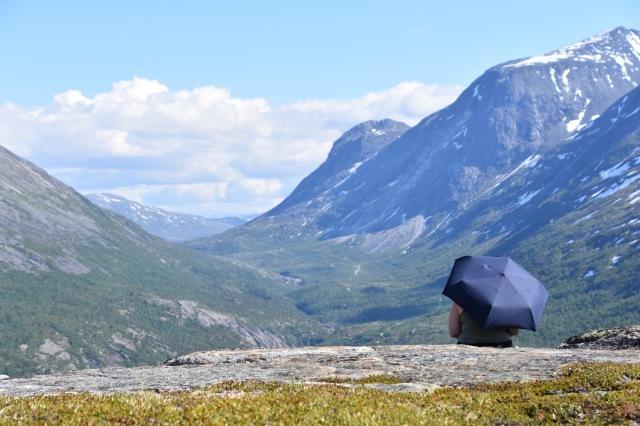 Overlooking the Skjomen valley