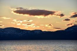 Lake Torneträsk, Abisko, Sweden